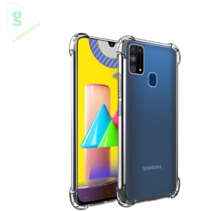Samsung Galaxy M31 Transparent Mobile Cover - Amazon Brand Solimo