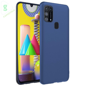 Pikkme Samsung Galaxy M21 / M30s Blue Mobile Back Cover