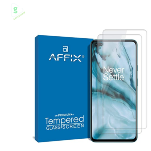 Affix Tempered Glass for OnePlus Nord/OnePlus Nord 5G Full Screen Coverage - Pack of 1